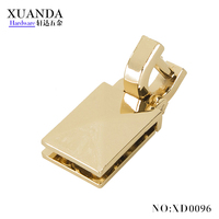 27*19mm Light gold bag handle for luggage
