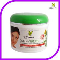 Fast whitening effect spots pigment removal vantex skin bleaching cream