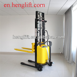 capacity 1.5ton lifting 1600mm 2000mm 2500mm 3000mm3500mm Semi-Electric forklift Stacker