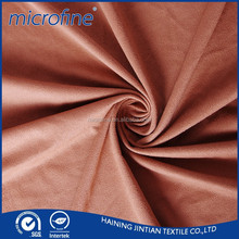 napped suede warp knitting fabric for garments,sofa,