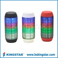 Wireless bluetooth portable bulb pulse speaker subwoofer with led light and TF card