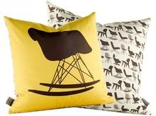 Modern Eames rocking chair colorful furniture chair
