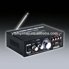 car subwoofer amplifier YT-698D with usb/sd