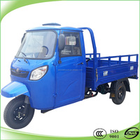 200cc water cooled moto cargo tricycle with cabin closed