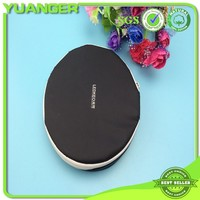 Round Black Printed Zipper Waterproof Bag For LED Light Exporter