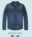 camisa de mezclilla para hombre