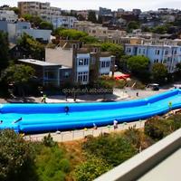 Fun city slide, giant cheap inflatable slip n slide