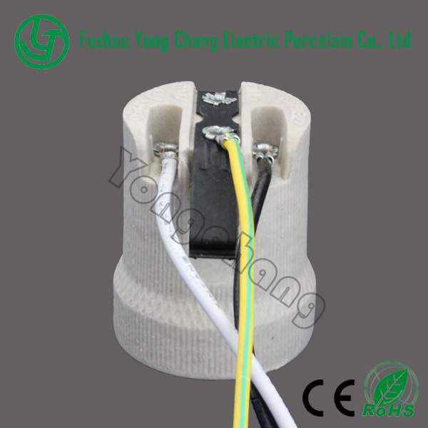 light bulb socket and e27 porcelain lampholder with wires and rh alibaba com Table Lamp Wiring Diagram Electrical Wiring for Lamps