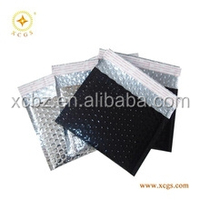 Self seal metallic foil bubble bags, metallic bubble envelope mailers