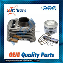 250cc Engine,OEM Quality Motorcycle Cylinder kit for ZongshenV250 Model ;Double Cylinder ,Air-Cooled ,Aluminium Alloy ,49mm