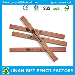 Home Depot Octagonal/oval Natural Wood Carpenter Pencil with Logo