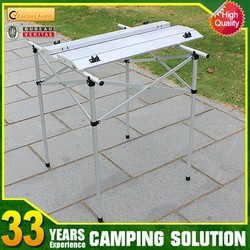 Portable camping folding table and chair set in bulk