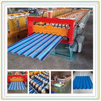 Botou Hot Sale Africa Durable IBR Used Metal Roof Panel Roll Forming Machine