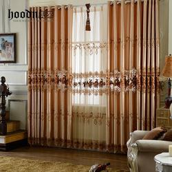 classical design hotel window curtain