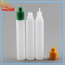 greatPE Eliquid Plastic Unicorn 30ml Plastic Dropper Bottle ,ELiquid Bottles Pen Shape Long Stand 30/15ml Plastic Dropper Bottle