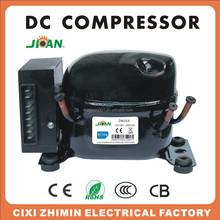 Solar ZM25DC R134a 12V 24V dc compressor for solar removable ice cream van/truck