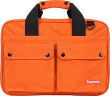 Expandable Briefcase/Computer Bag Multiple Zippered Compartments