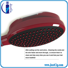 High quality hotel , folding hair brush for hotels,plastic brush hair comb
