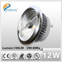 12v ac/dc IR Remote 12w 12V AC/DC led rgb AR111 spotlight G53