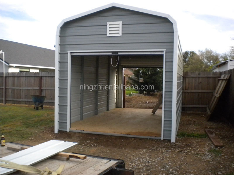 portable steel garage 3 car garage car storage building