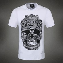 New Arrival Brand PP 2015 Men's T Shirts 100% Cotton Spring Summer T-shirts Male Short Sleeve Brand Design Man Top T Shirts