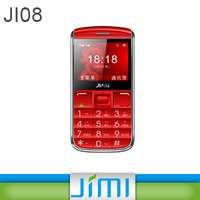 JIMI Hot Sell Senior mini gps gprs mobile phone 2.4Inch colored HD Display and SOS Emergency button for Elderly