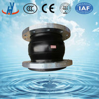 single ball flexible rubber expansion joints