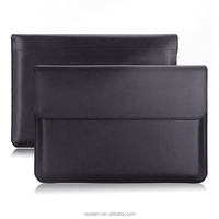 PU leather sleeve case for Macbook Air 13.3 Laptop Case sleeve With adaptor case for 13'' 13.3'' 14 inch Macbook
