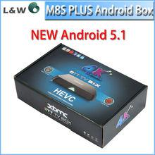 New Hot Plus Sex Pron Video TV Box Android 4.4 TV BoX M8S Amlogic S812 Quad Core 2G/8G 2.4G/5G WiFiDLNA Miracast
