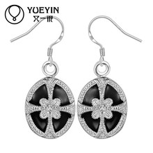 SGS Verified Bow Design Silver Plated Ladies Model Wholesale Fashion Jewelry Thailand