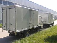 SUZUKI CARRY EXTRA cargo dry van box truck body/ cargo van truck/ckd refrigerated truck body