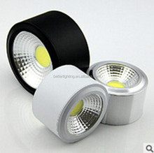 LED COB 10W surface mounted round LED downlight