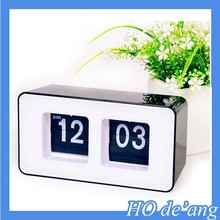 Hogift High Quality Auto Flip Clock/Flip Calendar Clock/Desk Clock Wholesale