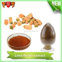 Zhejiang Shengshi Oragnic Flower Extract Lime Flower Extract High Purity Plant Extract with GMP Standard
