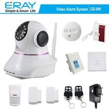 google play and IOS APP wireless IP camera+DIY home alarm systems