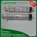 20ml grande plástico seringas com agulhas de uso único