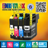 Compatible printer ink cartridge for brother lc-103 lc 103 with chip