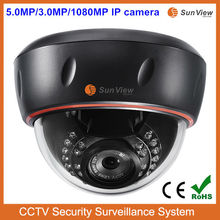 Alibaba Top selling 5.0 Megapixel IR dome digital camera IP, good performance better than Hikvision IP camera