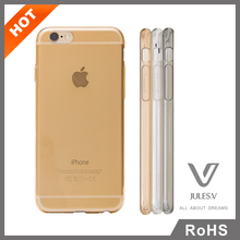 New arrival ultra thin TPU transparent clear phone protective back soft cover for iphone 6 plus tpu case