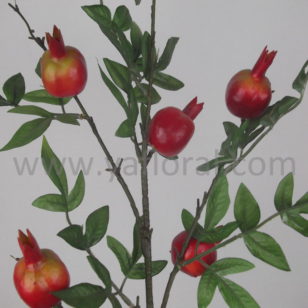 93cm artificial fruit pomegranate for home decoration for Artificial pomegranate decoration