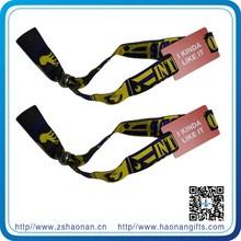 Factory direct custom aluminium card holders wristband for concert