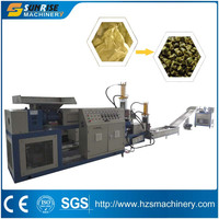 PP Woven Bags Recycling Pellet Making Machine
