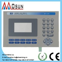 custom-made membrane keyboard switch control panel capacitive touch switch