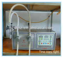 Olive oil pet bottle filling small machine with foot pedal (T)