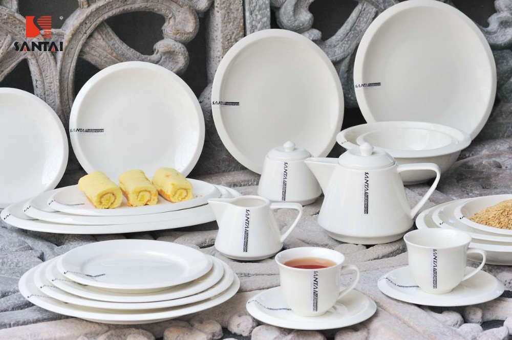 plate dinner set for hotel restaurant hot sale buy dinner set