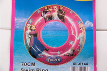frozen Inflatable swim ring wholesale frozen elsa and anna inflatable swim ring