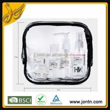 Fashion girls clear pvc cosmetic bag
