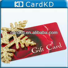 New product glossy plastic discount card with embossing style, supermarket discount gift card