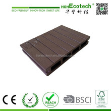 Hot Sell Engineered Wood Outdoor Decking / Plastic Wood / WPC Composite Decking