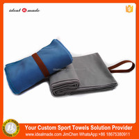 Microfiber In Mesh Bag Packaging Lightweight Beach Towel